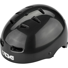 TSG Skate/BMX Injected Color Helm Herren injected black